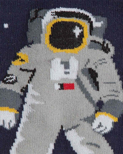 Sock It To Me One Small Step Astronaut Kids Knee High Socks