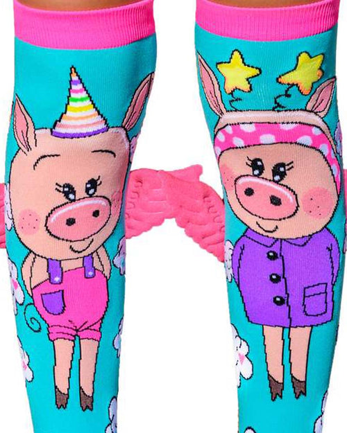 MadMia When Pigs Fly Piggy Socks