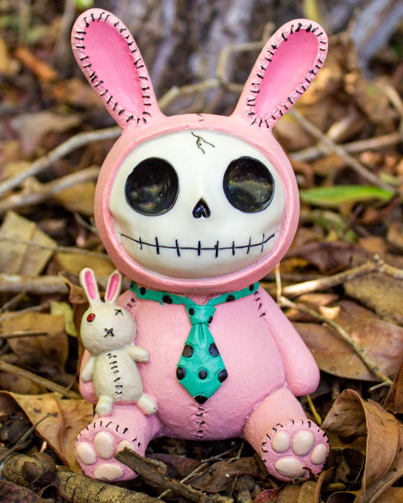 Furrybones Bun-Bun Bunny Rabbit Money Box Pink