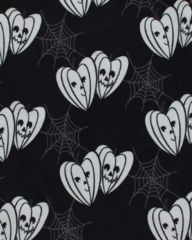 Metallimonsters Pumpkin Heart Onesie