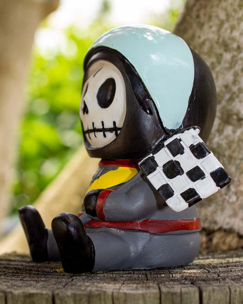 Furrybones Race Car Driver Jerry Figurine