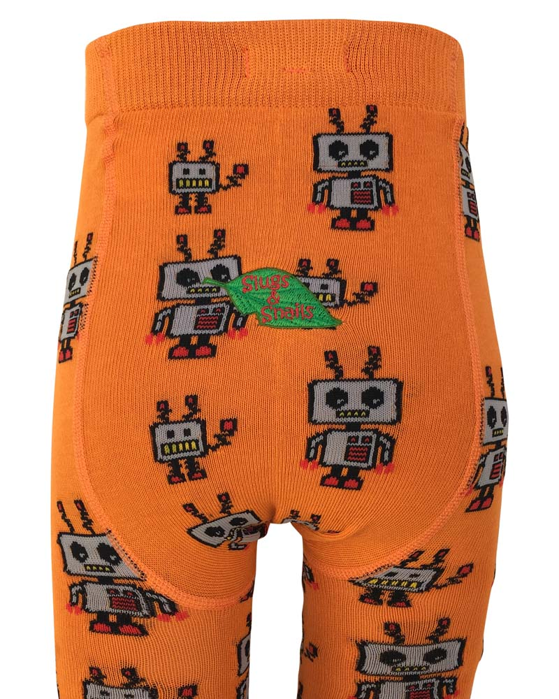 Slugs & Snails Robots Bots Tights
