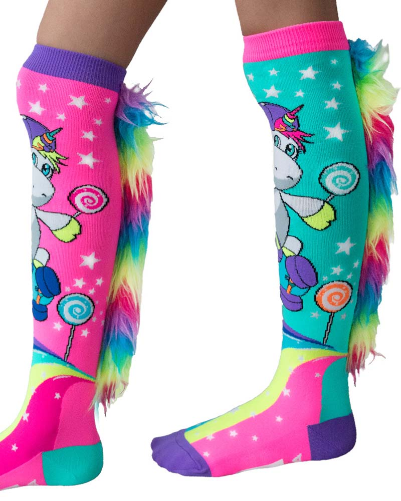 MadMia Skateboard Unicorn Socks