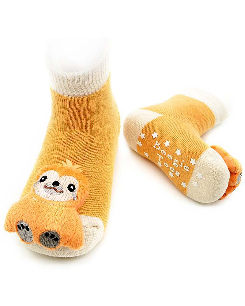 Piero Liventi Sleepy Sloth Baby Rattle Socks