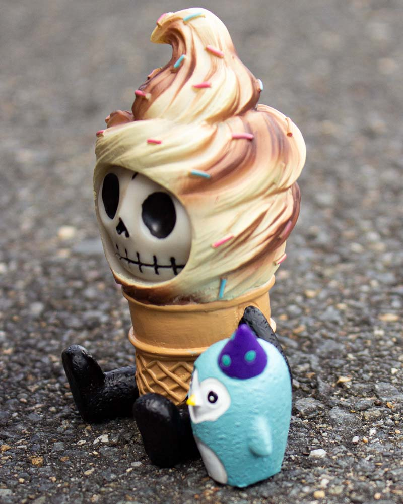 Furrybones Softo Soft Serve Ice Cream Figurine