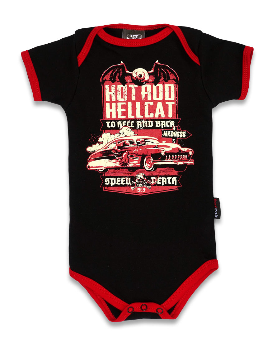 Hotrod Hellcat Speed Death To Hell & Back Onesie