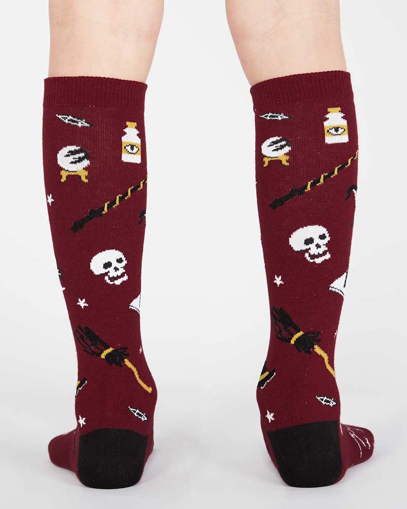 Sock It To Me Spells Trouble Kids Knee High Socks