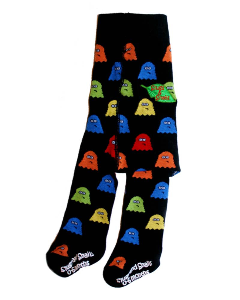 Slugs & Snails Spooked Ghost Tights