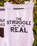 The Struggle Maternity Tank