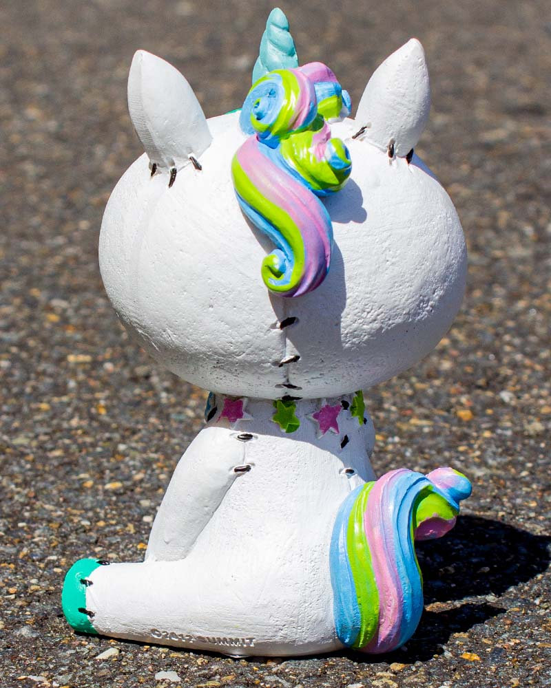 Furrybones Unie Unicorn Large Figurine White