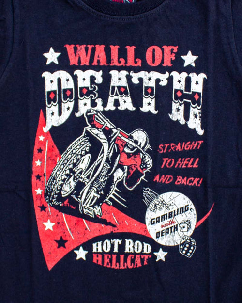 Hotrod Hellcat Wall Of Death Tee