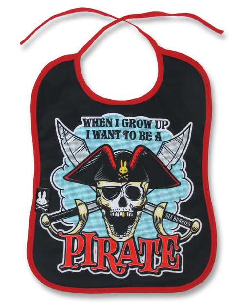 I Want To Be A Pirate Bib