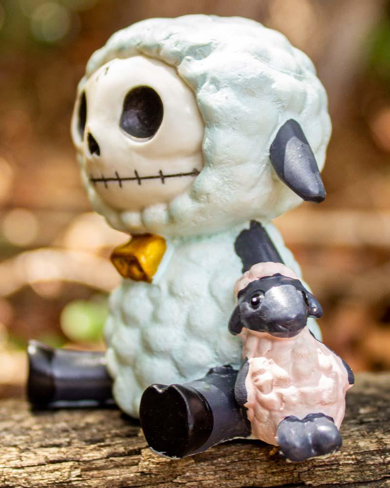 Furrybones Wooolee Sheep Figurine
