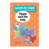 Tippie: learn to read (Level 2) 2: Tippie and Fin help