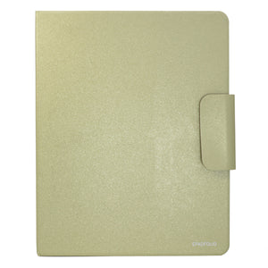 Ring Binder Padfolio with A4 Expanded Document Bag, Business Organizer Portfolio with 4-Ring Binder and Clipboard