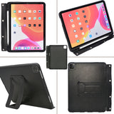 "Tablet Organizer Padfolio with 4-Ring Binder, Binder Portfolio with Removable Tablet Holder for iPad 10.5""/ iPad Pro 11""/ 12.9"""