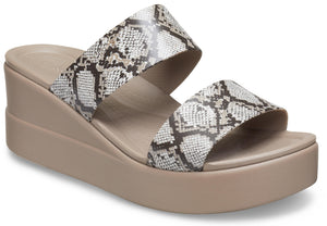 CROCS BROOKLYN MID WEDGE W SAN