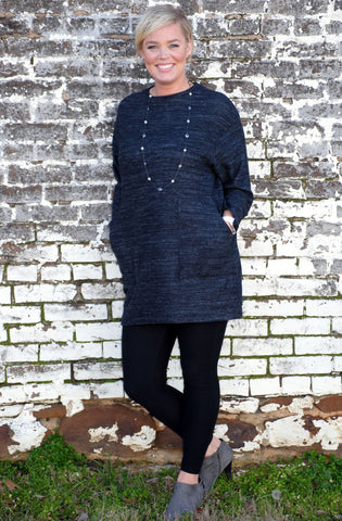 3/4 Length Sweater Dress