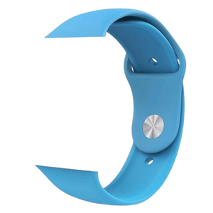 eprolo Accessories Blue Silicon / 38 mm SM series 4321 Silicon Apple iWatch Band