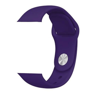 eprolo Accessories Deep Purple Silicon / 38 mm SM series 4321 Silicon Apple iWatch Band
