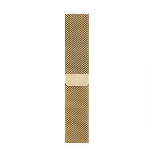 eprolo Accessories Gold Milanese / 38mm Apple iWatch band with Milanese Loop