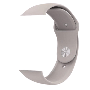 eprolo Accessories Gray Silicon / 38 mm SM series 4321 Silicon Apple iWatch Band