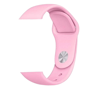 eprolo Accessories Pink Silicon / 38 mm SM series 4321 Silicon Apple iWatch Band