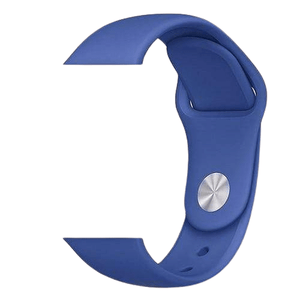eprolo Accessories Royal Blue Silicon / 38 mm SM series 4321 Silicon Apple iWatch Band