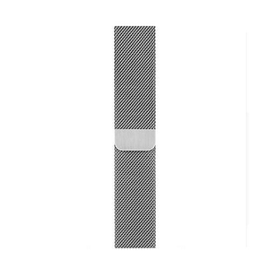 eprolo Accessories Silver Milanese / 38mm Apple iWatch band with Milanese Loop