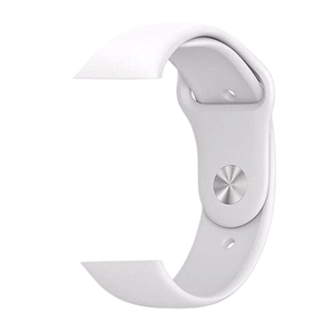 eprolo Accessories White Silicon / 38 mm SM series 4321 Silicon Apple iWatch Band