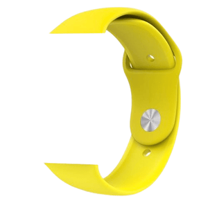 eprolo Accessories Yellow Silicon / 38 mm SM series 4321 Silicon Apple iWatch Band