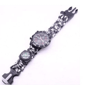 eprolo bracelet Black and White / 25.5cm Military Grade Survival Wristband
