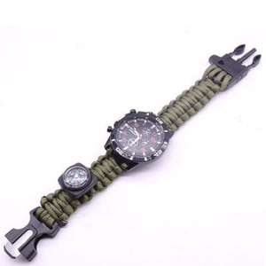 eprolo bracelet Solid Green / 25.5cm Military Grade Survival Wristband
