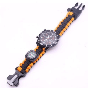 eprolo bracelet Striped Orange / 25.5cm Military Grade Survival Wristband