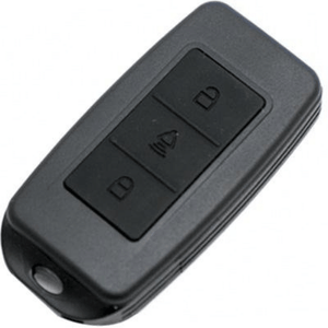 KJB Spy Gear Remote Keyless Entry with Covert Voice Recorder