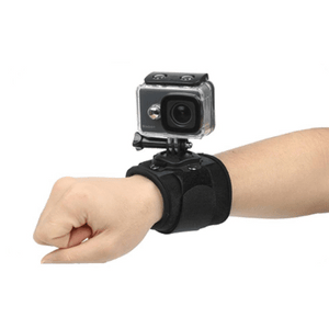 needs description eprolo Accessories 360 Degree Rotating Hand & Wrist Strap For Action Cameras