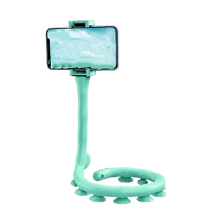 needs description eprolo Accessories Caterpillar Green Suction Cup Lazy Phone Holder Caterpillar Cell Phone Holder Desktop Flexible Worm Car Mount Home Cute Phone Wall Bracket Bicycle