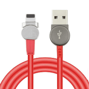 needs description eprolo Charger Red / TYPE-C Magnetic USB Type C Cable Data Sync Nylon Braided LED Indicator Magnet Charger Cable 180 Degree Rotating Magnetic Data Line