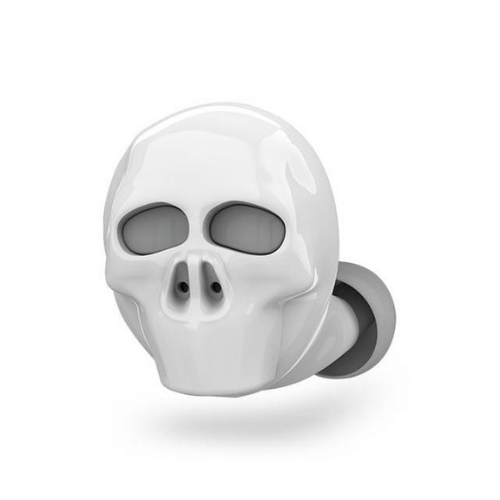 eprolo Skull Bone Bluetooth Earphone with Microphone Noise Cancelling Hi-Fi Handsfree Bass Stereo Mini Micro Earbud Earpiece