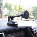 Car telescopic arm magnet phone stand car instrument table sucker mobile phone frame navigation bracket universal models