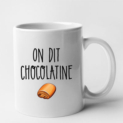 Mug On dit chocolatine