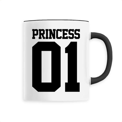 Mug Princess 01 Noir