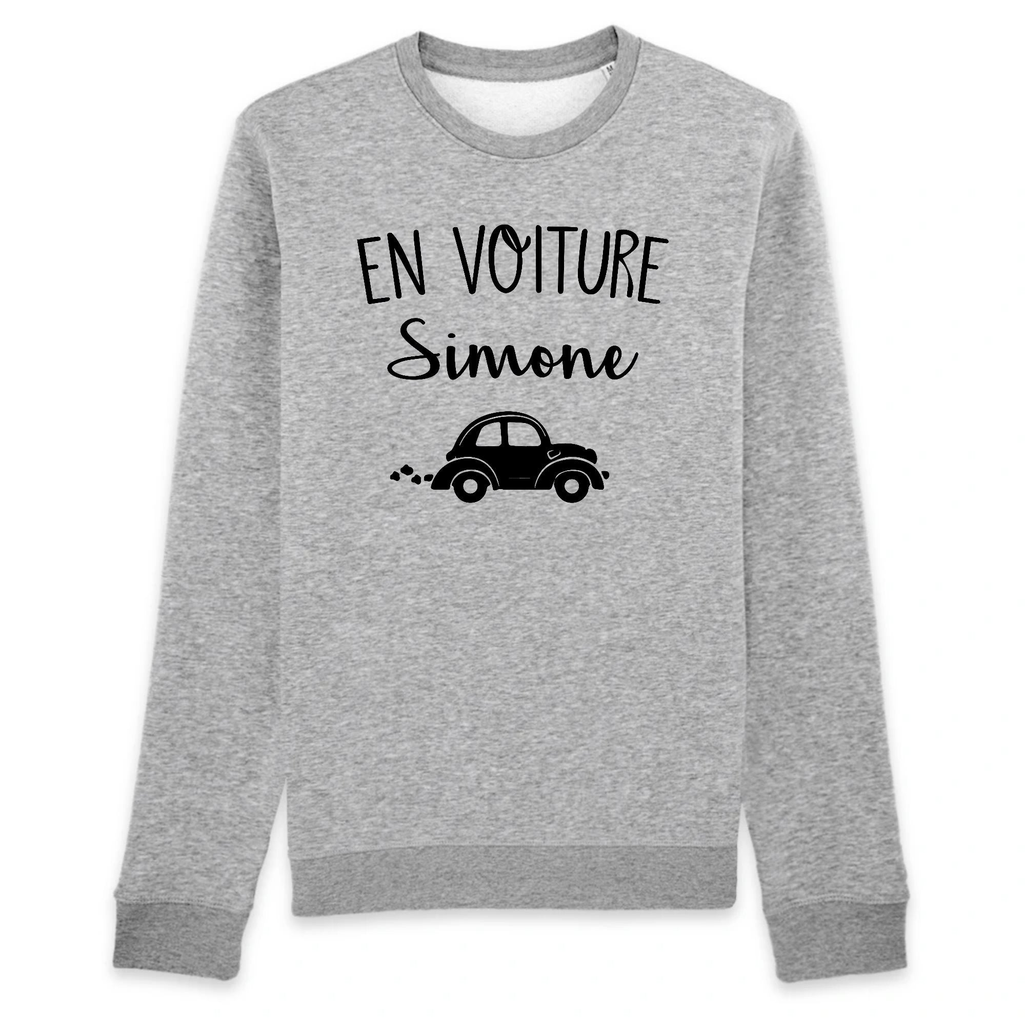 Sweat Adulte En voiture Simone