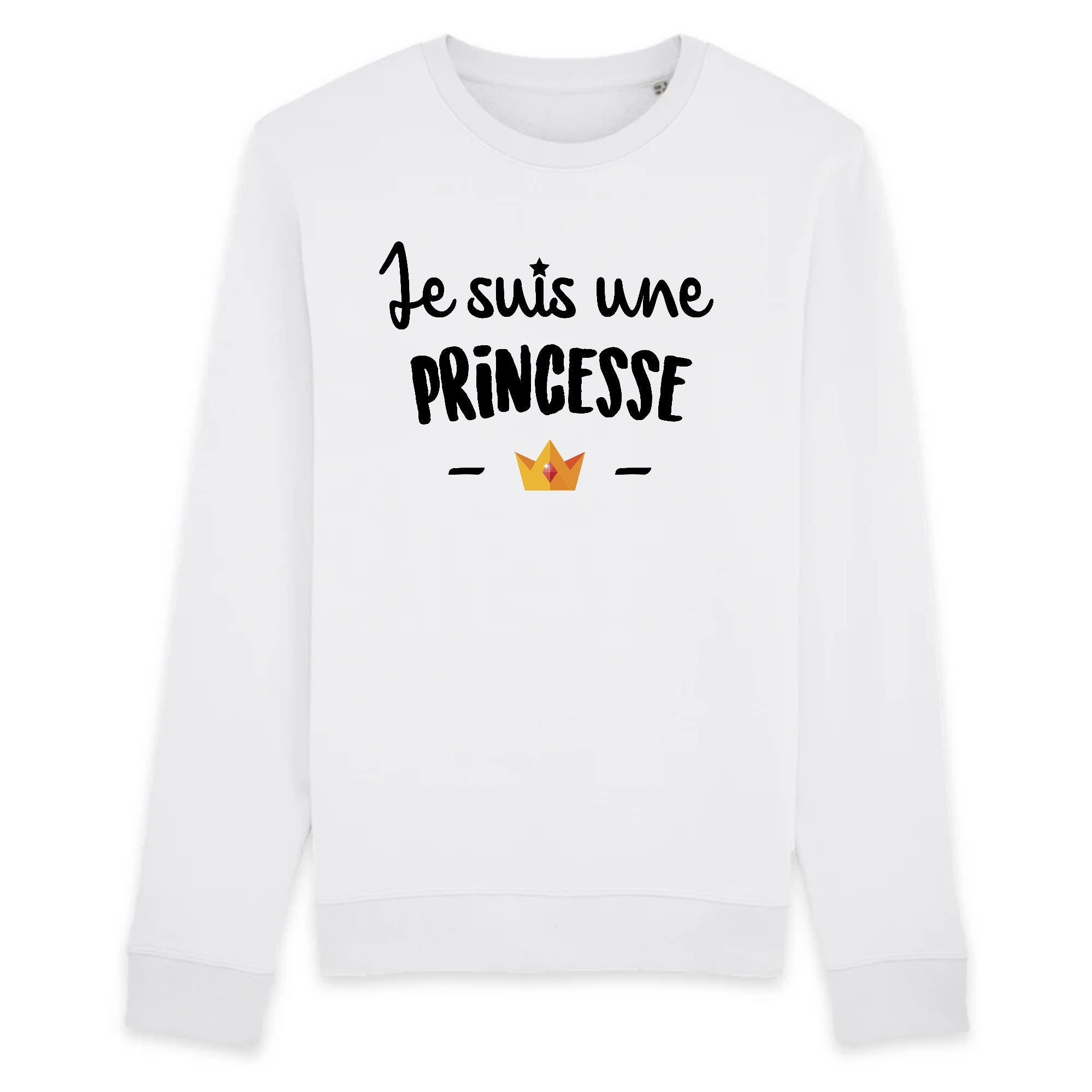 Sweat Adulte Je suis une princesse