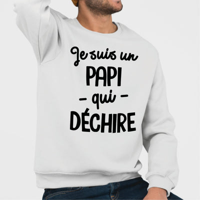 Sweat Adulte Papi qui déchire