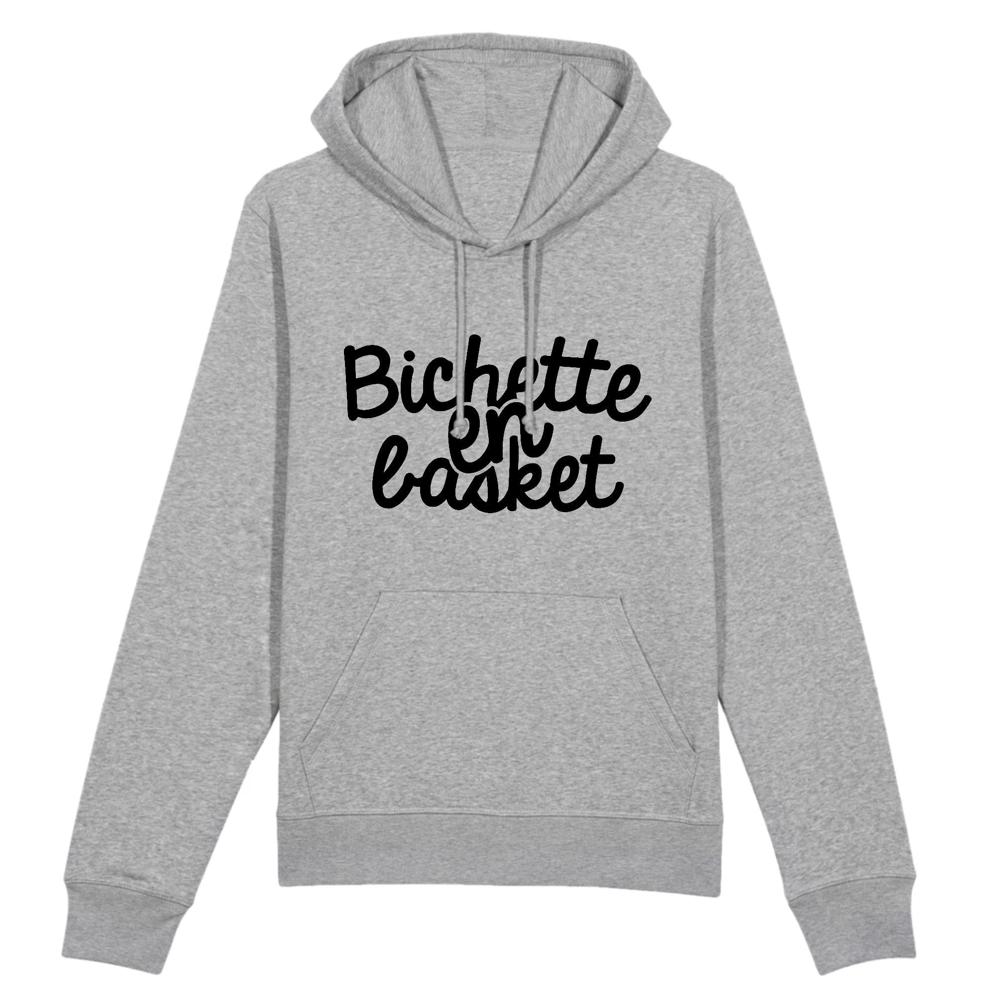 Sweat Capuche Adulte Bichette en basket