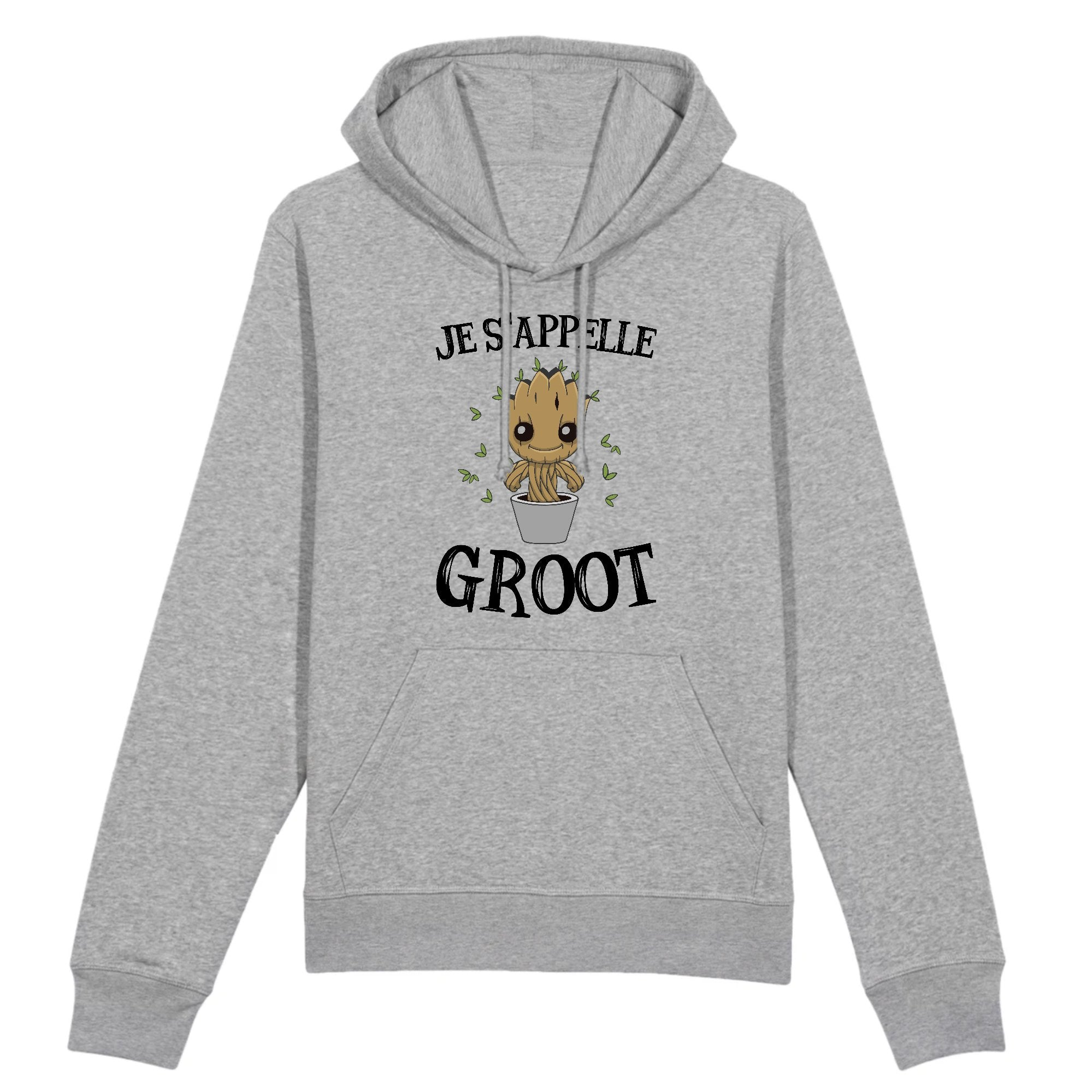 Sweat Capuche Adulte Je s'appelle Groot