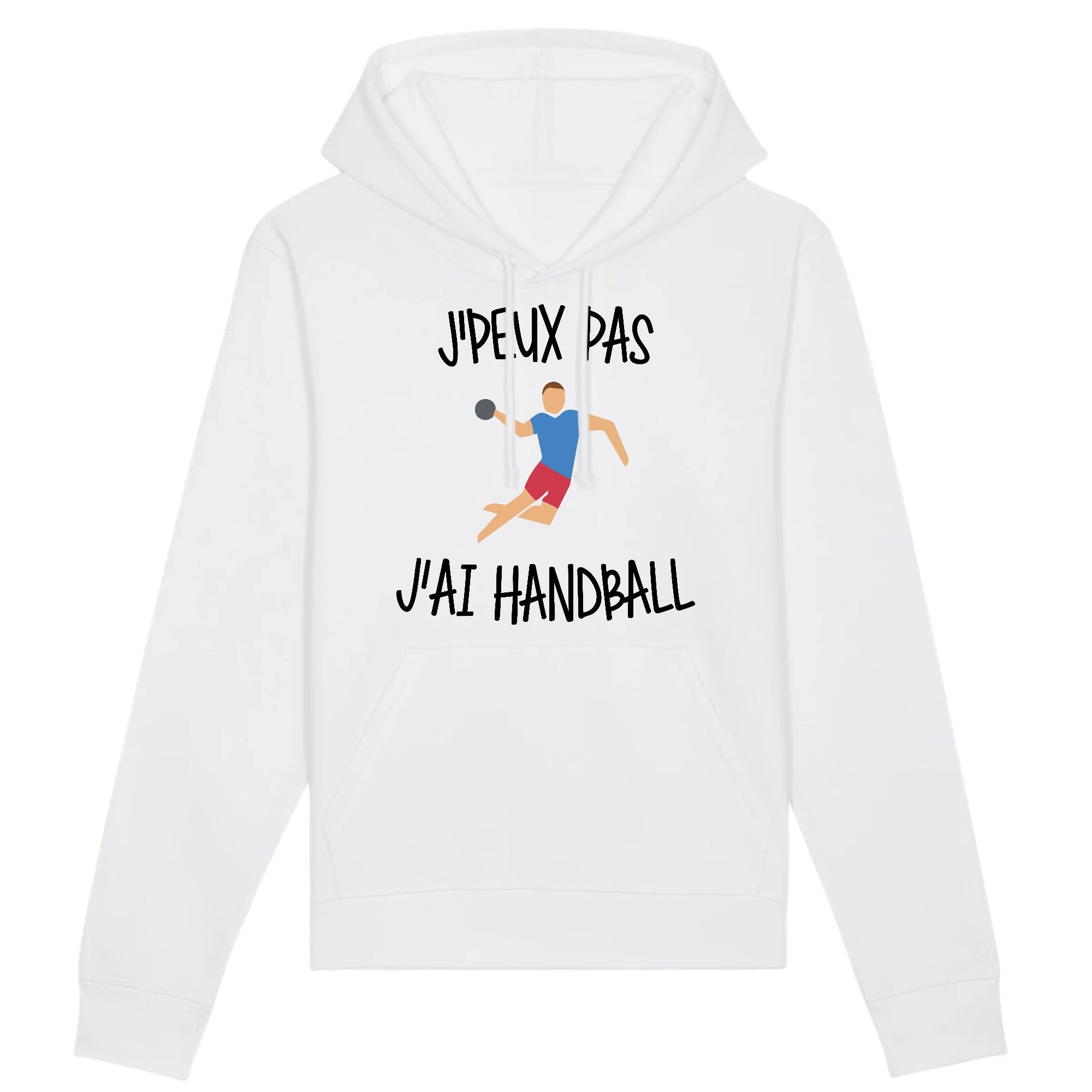 Sweat Capuche Adulte J'peux pas j'ai handball