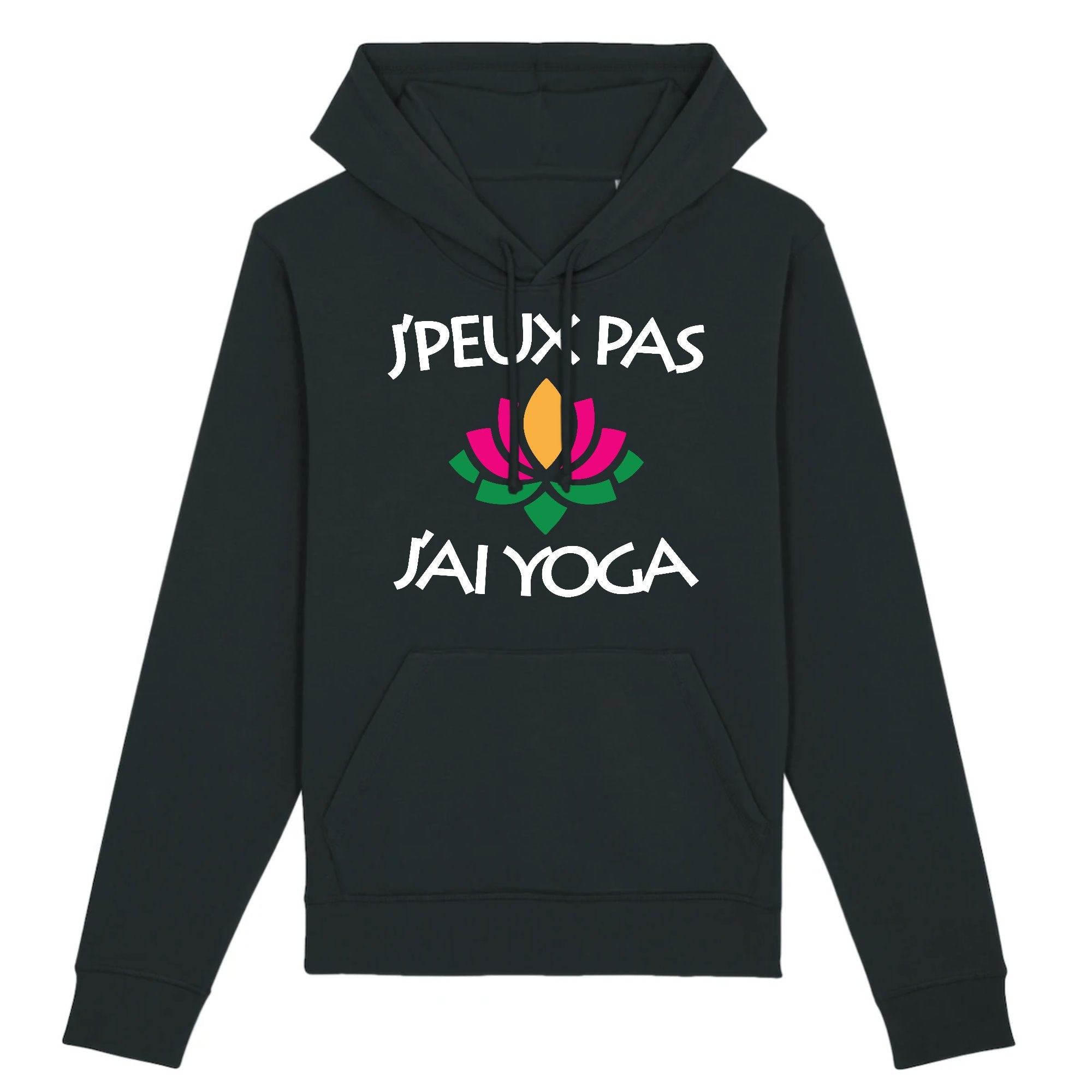 Sweat Capuche Adulte J'peux pas j'ai yoga