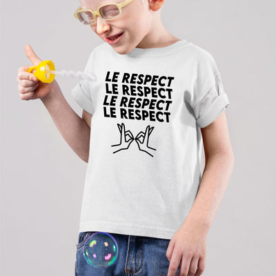 T-Shirt Enfant Le respect